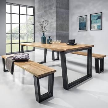 Table en chêne massif BELLINI