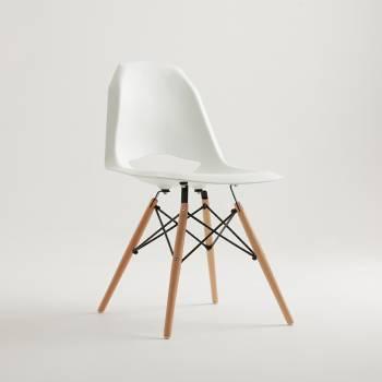 Lot de 2 chaises design MATCH