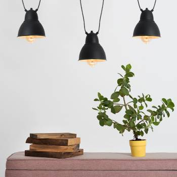 Ensemble de 3 lampes suspendues