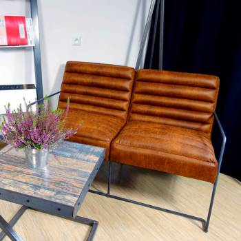 Canapé 2 places, de style...